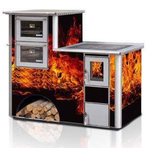 Central Heating Cooker With Glass Design Coating 35kW